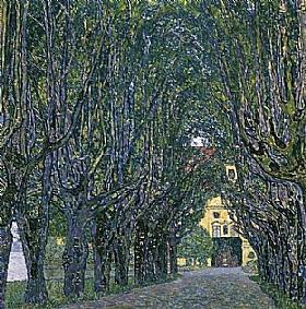 Gustav Klimt, Allée du parc de Schloss Kammer - GRANDS PEINTRES / Klimt