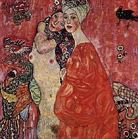 Gustav Klimt, Les amies - GRANDS PEINTRES / Klimt