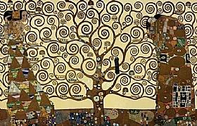 Gustav Klimt, L'arbre de la vie (Composition) - GRANDS PEINTRES / Klimt
