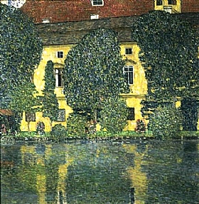 Gustav Klimt, La rivière de Schloss Kammer - GRANDS PEINTRES / Klimt