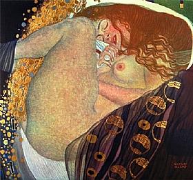 Gustav Klimt, Danae - GRANDS PEINTRES / Klimt