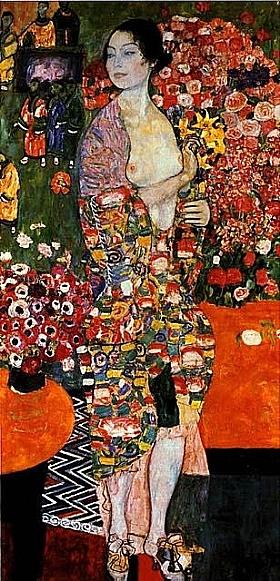 Gustav Klimt, La danseuse - GRANDS PEINTRES / Klimt