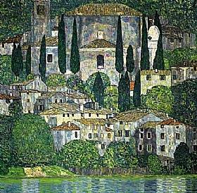 Gustav Klimt, Eglise de Cassone - GRANDS PEINTRES / Klimt