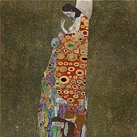 Gustav Klimt, Espoir II - GRANDS PEINTRES / Klimt