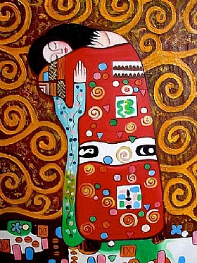 Gustav Klimt, l'amour - GRANDS PEINTRES / Klimt