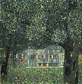 Gustav Klimt, Campagne autrichienne - GRANDS PEINTRES / Klimt