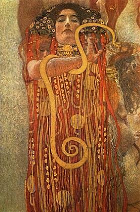 Gustav Klimt, La médecine - GRANDS PEINTRES / Klimt