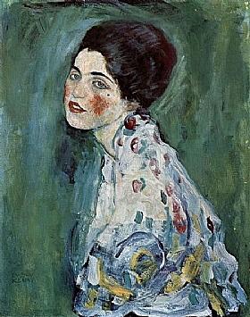 Gustav Klimt, Portrait de jeune femme - GRANDS PEINTRES / Klimt