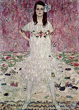 Gustav Klimt, Portrait de Mada Privamesi - GRANDS PEINTRES / Klimt