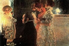 Gustav Klimt, Schubert au piano - GRANDS PEINTRES / Klimt