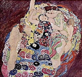 Gustav Klimt, Les vierges - GRANDS PEINTRES / Klimt
