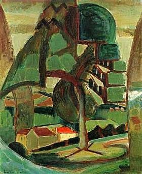 Henri Le Fauconnier, Passage à Meulan - GRANDS PEINTRES / Le Fauconnier