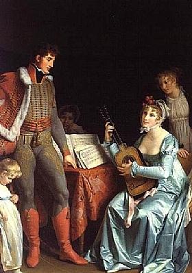 Marguerite Gérard, La Duchesse et le Général - GRANDS PEINTRES / Gérard