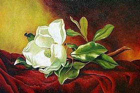 Magnolia Grandiflora, Martin Johnson Heade - Grands Peintres / Heade