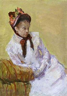 Mary Cassatt, Autoportrait - GRANDS PEINTRES / Cassatt