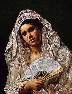 Mary Cassatt, Danseuse espagnole - GRANDS PEINTRES / Cassatt