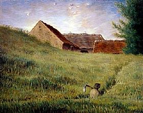 Jean-François Millet, Chemin dans les blés - GRANDS PEINTRES / Millet