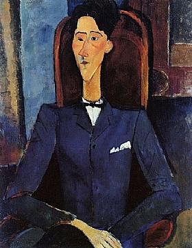 Modigliani, Portrait de Jean Cocteau - GRANDS PEINTRES / Modigliani