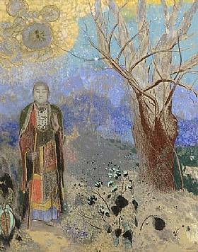Odilon Redon, Bouddha - GRANDS PEINTRES / Redon