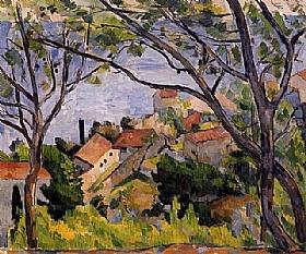 Paul Cézanne, L'Estaque - GRANDS PEINTRES / Cezanne