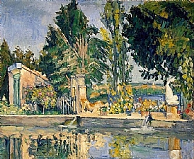 Paul Cézanne, L'étang de Jas de Bouffan - GRANDS PEINTRES / Cezanne