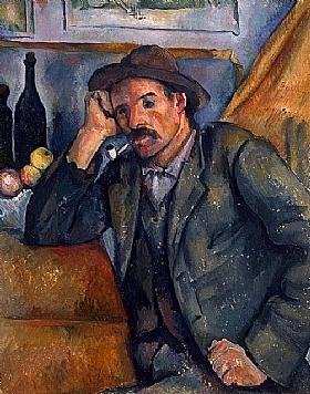 Paul Cézanne, Le fumeur - GRANDS PEINTRES / Cezanne