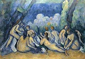Paul Cézanne, Les grandes baigneuses - GRANDS PEINTRES / Cezanne
