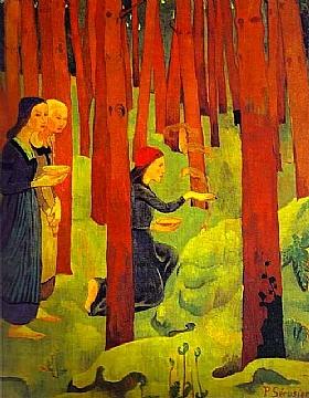 Paul Sérusier, L'incantation ou le bois sacré - GRANDS PEINTRES / Sérusier