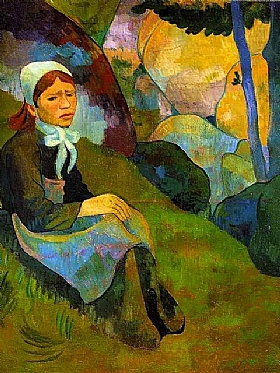 Paul Sérusier, Solitude-GRANDS PEINTRES-Sérusier