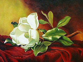 Magnolia Grandiflora, Martin Johnson Heade - Grands Peintres / Heade