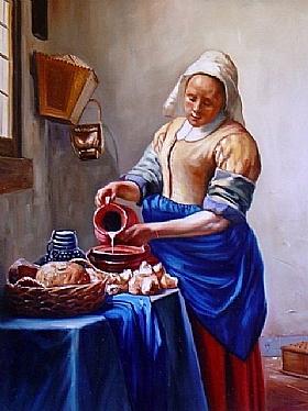 tableaux Grands Peintres et peinture Vermeer