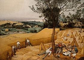 Pieter Bruegel dit l'Ancien, Les moissonneurs - GRANDS PEINTRES / Bruegel