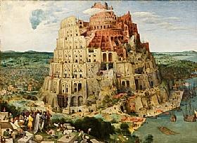 Pieter Bruegel dit l'Ancien, La tour de Babel - GRANDS PEINTRES / Bruegel