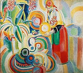 Robert Delaunay, Portugaise - GRANDS PEINTRES / Delaunay