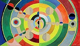 Robert Delaunay, Relief disques - GRANDS PEINTRES / Delaunay