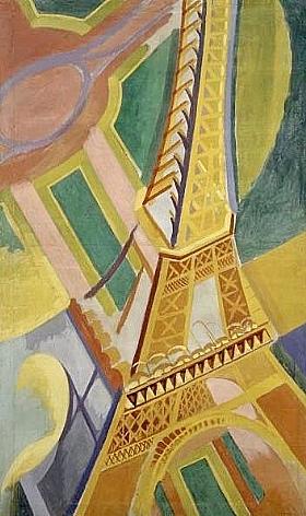 Robert Delaunay, Tour Eiffel - GRANDS PEINTRES / Delaunay
