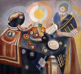 Robert Delaunay, Verseuse - GRANDS PEINTRES / Delaunay