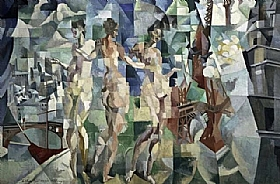 Robert Delaunay, La ville - GRANDS PEINTRES / Delaunay