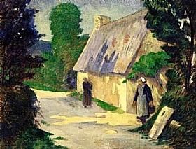 Paul Sérusier, Le chemin au village - GRANDS PEINTRES / Sérusier