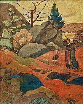 Paul Sérusier, Rochers à Huelgoat - GRANDS PEINTRES / Sérusier