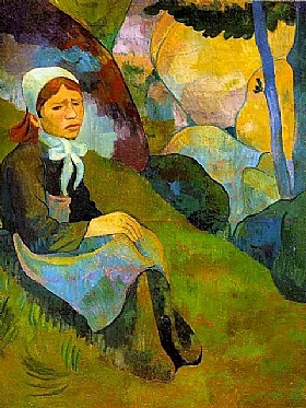 Paul Sérusier, Solitude - GRANDS PEINTRES / Sérusier
