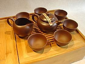 Service a thé de chine, Coffret complet yixing - SCULPTURES / Comptoir du Thé