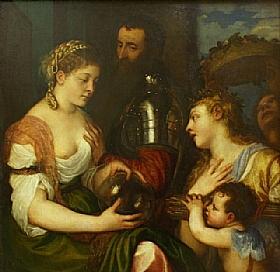 Tiziano Vecellio dit Titien, Allégorie Conjugale - GRANDS PEINTRES / Titien