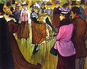 Henri de Toulouse-Lautrec, Au Moulin Rouge - GRANDS PEINTRES / Toulouse-Lautrec