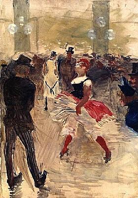 Henri de Toulouse-Lautrec, A l'Elysée-Montmarte - GRANDS PEINTRES / Toulouse-Lautrec