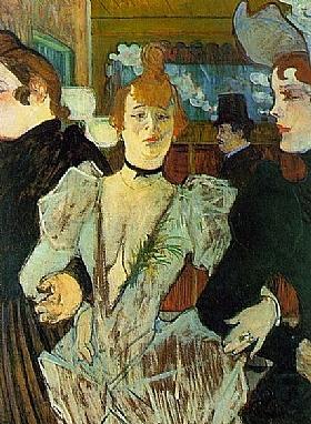 Henri de Toulouse-Lautrec, La Goulue arrivant au Moulin Rouge - GRANDS PEINTRES / Toulouse-Lautrec