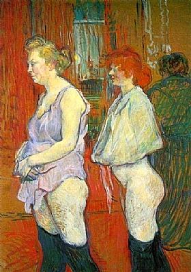 Henri de Toulouse-Lautrec, La visite médicale - GRANDS PEINTRES / Toulouse-Lautrec