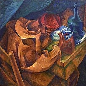 Umberto Boccioni, le buveur - GRANDS PEINTRES / Boccioni
