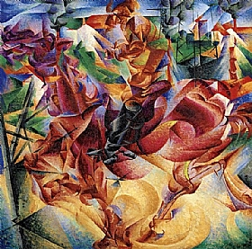 Umberto Boccioni, Elasticité - GRANDS PEINTRES / Boccioni