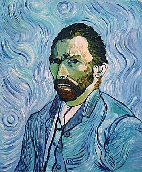 Vincent Van Gogh, Autoportrait - GRANDS PEINTRES / Van Gogh